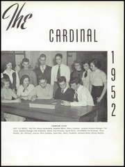 Page 5, 1952 Edition, Colerain High School - Cardinal Yearbook (Cincinnati, OH) online yearbook collection