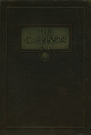 Page 1, 1924 Edition, Cleveland Heights High School - Caldron Yearbook (Cleveland Heights, OH) online yearbook collection
