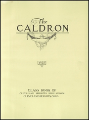 Page 7, 1928 Edition, Cleveland Heights High School - Caldron Yearbook (Cleveland Heights, OH) online yearbook collection