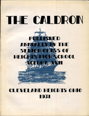Page 9, 1931 Edition, Cleveland Heights High School - Caldron Yearbook (Cleveland Heights, OH) online yearbook collection