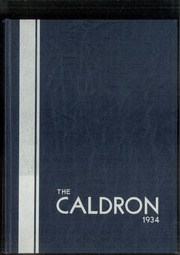 Page 1, 1934 Edition, Cleveland Heights High School - Caldron Yearbook (Cleveland Heights, OH) online yearbook collection