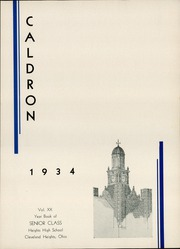Page 9, 1934 Edition, Cleveland Heights High School - Caldron Yearbook (Cleveland Heights, OH) online yearbook collection