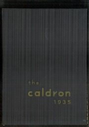 Page 1, 1935 Edition, Cleveland Heights High School - Caldron Yearbook (Cleveland Heights, OH) online yearbook collection