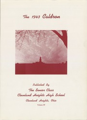 Page 7, 1943 Edition, Cleveland Heights High School - Caldron Yearbook (Cleveland Heights, OH) online yearbook collection