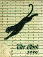 1959 Edition, Perry High School - Clock Yearbook (Massillon, OH)