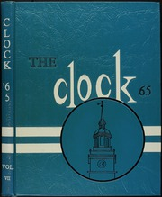 1965 Edition, Perry High School - Clock Yearbook (Massillon, OH)