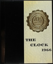 1966 Edition, Perry High School - Clock Yearbook (Massillon, OH)