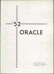 Page 5, 1952 Edition, Liberty High School - Oracle Yearbook (Youngstown, OH) online yearbook collection