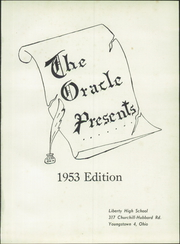 Page 5, 1953 Edition, Liberty High School - Oracle Yearbook (Youngstown, OH) online yearbook collection