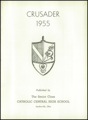 Page 5, 1955 Edition, Catholic Central High School - Crusader Yearbook (Steubenville, OH) online yearbook collection