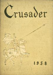 1958 Edition, Catholic Central High School - Crusader Yearbook (Steubenville, OH)