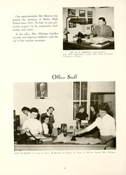 Page 10, 1952 Edition, Butler High School - Airlog Yearbook (Vandalia, OH) online yearbook collection