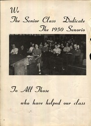 Page 4, 1950 Edition, Olmsted Falls High School - Senorio Yearbook (Olmsted Falls, OH) online yearbook collection