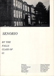 Page 7, 1963 Edition, Olmsted Falls High School - Senorio Yearbook (Olmsted Falls, OH) online yearbook collection