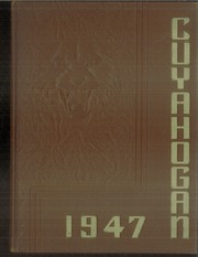 1947 Edition, Cuyahoga Falls High School - Cuyahogan Yearbook (Cuyahoga Falls, OH)