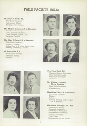 Page 15, 1953 Edition, Cuyahoga Falls High School - Cuyahogan Yearbook (Cuyahoga Falls, OH) online yearbook collection