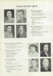 Page 16, 1953 Edition, Cuyahoga Falls High School - Cuyahogan Yearbook (Cuyahoga Falls, OH) online yearbook collection