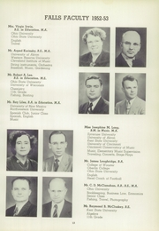 Page 17, 1953 Edition, Cuyahoga Falls High School - Cuyahogan Yearbook (Cuyahoga Falls, OH) online yearbook collection