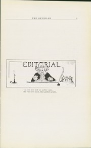 Page 13, 1921 Edition, Newark High School - Reveille Yearbook (Newark, OH) online yearbook collection