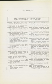 Page 16, 1921 Edition, Newark High School - Reveille Yearbook (Newark, OH) online yearbook collection
