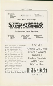 Page 9, 1921 Edition, Newark High School - Reveille Yearbook (Newark, OH) online yearbook collection