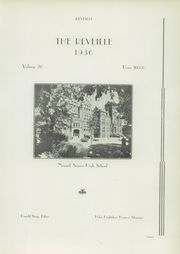 Page 7, 1936 Edition, Newark High School - Reveille Yearbook (Newark, OH) online yearbook collection