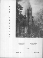 Page 5, 1937 Edition, Newark High School - Reveille Yearbook (Newark, OH) online yearbook collection