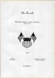 Page 11, 1941 Edition, Newark High School - Reveille Yearbook (Newark, OH) online yearbook collection