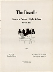 Page 9, 1945 Edition, Newark High School - Reveille Yearbook (Newark, OH) online yearbook collection