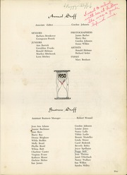 Page 9, 1950 Edition, Newark High School - Reveille Yearbook (Newark, OH) online yearbook collection