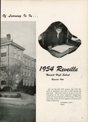 Page 15, 1954 Edition, Newark High School - Reveille Yearbook (Newark, OH) online yearbook collection