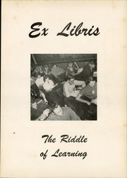 Page 5, 1954 Edition, Newark High School - Reveille Yearbook (Newark, OH) online yearbook collection