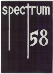 1958 Edition, Parma High School - Spectrum Yearbook (Parma, OH)