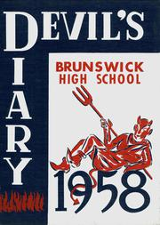 1958 Edition, Brunswick High School - Devils Diary Yearbook (Brunswick, OH)