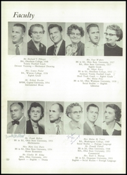 Page 12, 1956 Edition, Gahanna Lincoln High School - Echoes Yearbook (Gahanna, OH) online yearbook collection