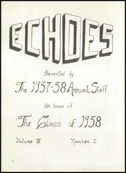 Page 6, 1958 Edition, Gahanna Lincoln High School - Echoes Yearbook (Gahanna, OH) online yearbook collection