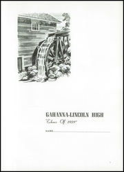Page 5, 1959 Edition, Gahanna Lincoln High School - Echoes Yearbook (Gahanna, OH) online yearbook collection