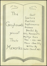 Page 5, 1953 Edition, Grove City High School - Greyhound Yearbook (Grove City, OH) online yearbook collection