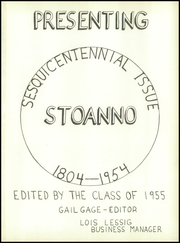 Page 5, 1955 Edition, Stow Monroe Falls High School - Stoanno Yearbook (Stow, OH) online yearbook collection