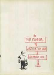 Page 5, 1951 Edition, Worthington High School - Cardinal Yearbook (Worthington, OH) online yearbook collection