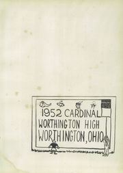 Page 5, 1952 Edition, Worthington High School - Cardinal Yearbook (Worthington, OH) online yearbook collection