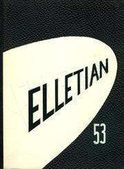 Page 1, 1953 Edition, Ellet High School - Elletian Yearbook (Akron, OH) online yearbook collection