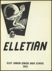 Page 5, 1953 Edition, Ellet High School - Elletian Yearbook (Akron, OH) online yearbook collection