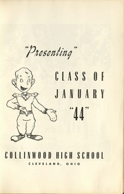 Page 7, 1944 Edition, Collinwood High School - Railroader Yearbook (Cleveland, OH) online yearbook collection