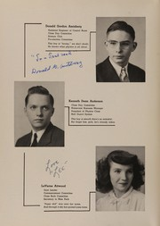 Page 12, 1945 Edition, Collinwood High School - Railroader Yearbook (Cleveland, OH) online yearbook collection
