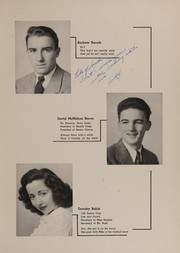 Page 13, 1945 Edition, Collinwood High School - Railroader Yearbook (Cleveland, OH) online yearbook collection