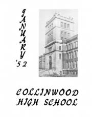 Page 3, 1952 Edition, Collinwood High School - Railroader Yearbook (Cleveland, OH) online yearbook collection