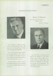 Page 12, 1937 Edition, Zanesville High School - Comus Yearbok (Zanesville, OH) online yearbook collection