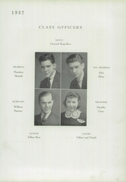 Page 17, 1937 Edition, Zanesville High School - Comus Yearbok (Zanesville, OH) online yearbook collection