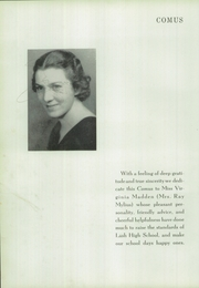 Page 8, 1937 Edition, Zanesville High School - Comus Yearbok (Zanesville, OH) online yearbook collection